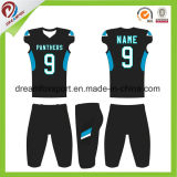 Dry Fit Shirt de sport maillot de football américain de sublimation personnalisé