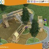 아이들 Hx1101j를 위한 옥외 모험 나무로 되는 운동장