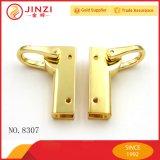 Sacchetto del metallo dell'oro della fabbrica ed accessori per il vestiario su ordinazione all'ingrosso