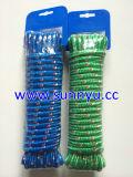 Diamond corda entrançada, 16strand corda PP embalagem de cartão de plástico