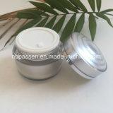 frasco 50g de creme redondo acrílico para o empacotamento do cosmético (PPC-NEW-146)