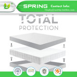 China Proveedor Home ropa de cama de algodón y poliéster 100% impermeable protector de colchón equipado hoja