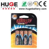 батарея Lr6 алюминиевой фольги 1.5V алкалическая