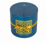 Steifes Papier gedrucktes wesentliches Öl, das ringsum Geschenk-Kasten verpackt