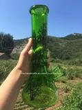 12 بوصة كأس [وتر بيب] زجاجيّة مع حياة شجرة ملصق مائيّ