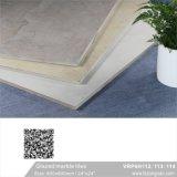 艶をかけられた大理石の磨かれた磁器の床タイル(VRP6H114、600X600mm)