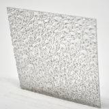 Лист диаманта поликарбоната выбитый высоким качеством для крытой стены перегородки