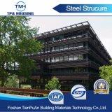 Fabricación de la estructura de acero de Foshan Historia Multi Almacén de la estructura de acero