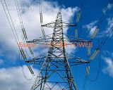 Torre de acero de la transmisión de potencia del ángulo de las piernas de la alta precisión cuatro de la fábrica