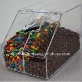 Boîte de bonbons en acrylique de haute qualité avec des certificats de SGS
