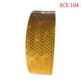 Weiße Zustimmungs-Augenfälligkeit Farbe ECE-104, die reflektierendes Band für Fahrzeug markiert