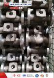 Valvola di globo industriale dell'acciaio inossidabile della flangia dell'ANSI