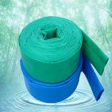 Disposición plana la manguera de PVC