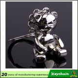 Netter Tierform-Teddybär-Schlüsselkette