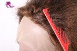 Parrucca frontale dei capelli umani del Virgin del merletto per la donna