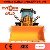 세륨 Approved를 가진 작은 Wheel Loader Er35 Qingdao Everun Construction Machinery