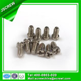 Cross Creess White Nickel Plated Cap Head Machine Screws