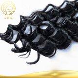100%年のバージンの加工されていないブラジルの毛の拡張実質の人間の毛髪
