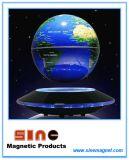 磁気浮揚された地球の地球