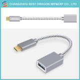 Нейлоновые экранирующая оплетка USB 3.0 Тип C для 3.0 USB-кабель передачи данных для iPhone Android