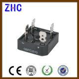 GBPC Series Envase monofásico puente rectificador de diodos de silicio