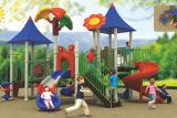 Landhaus-Serien-großes Plättchen-scherzt rostfreie Plättchen-Dschungel-Gymnastik im Freienspielplatz