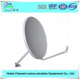 Utilisation extérieure de récepteur de l'antenne TV d'antenne parabolique de Ku-60cm