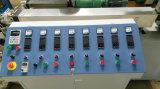 Zwei Trinkhalm der Farben-pp., der Maschine herstellt