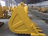 Caçamba da escavadeira para máquinas de construção pesada Komatsu/Hitachi/Volvo