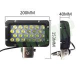 24W 8inch 크리 사람 트럭을%s 자동 램프 LED 일 빛