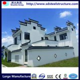 Stahlkanal-vorfabriziertes helles schönes Stahllandhaus