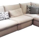 Простой Desig сочетание ткани диван в гостиной мебели
