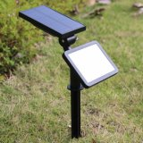 LED de luz solar césped Outdoor Sensor de movimiento PIR Faroles de seguridad