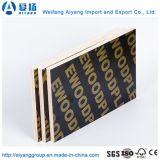 ロゴはポプラのコアWBP接着剤のフィルムによって直面された合板を印刷した