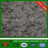 Fibra de aço revestida fibra/do aço/cobre de aço da fibra para o concreto
