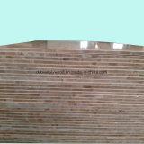 La melamina se enfrentan a la Junta de bloque de madera contrachapada para muebles y Carbinet