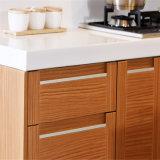 イギリス様式の台所家具PVCシェーカーのドアのモジュラー台所家具