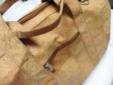 Saco de ombro de madeira real novo das senhoras do couro da cortiça (dB08)