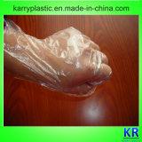 Устранимые пластичные перчатки PE