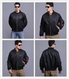3 cores Tactical Pilot Coat Men impermeável à prova de vento Casaco quente