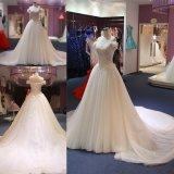 肩のBallgownの花嫁のウェディングドレスWgf058を離れて