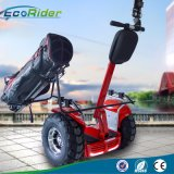 Millage maximum 70km deux boguet de golf des roues 4000W avec la double batterie 72V