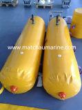 Embarcação de sobrevivência ou barco salva-vidas Loadtesting sacos de peso com água