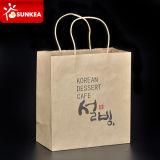 Restaurant fait sur commande Papier d'emballage Paper Bags avec Handle