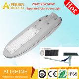 30W de alta potencia 50W 60W 80W Piscina Split LED separados calle la luz solar con Ce RoHS aprobado