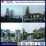 プレハブの鉄骨構造の工場建物中国製