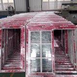 PVC que desliza a placa única/indicador de vidro Tempered do dobro, indicador barato do PVC do preço