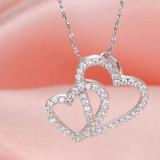 925 de zilveren Juwelen van het Huwelijk van de Vrouwen van het Hart van de Juwelen 2018 van de Manier Zilveren