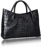 Sacchetto di cuoio del progettista dell'unità di elaborazione della borsa di acquisto del sacchetto delle donne di grande capienza della signora Handbag di modo (WDL0403)