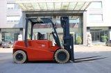 5 тонн электрического вилочного цена 4 колеса погрузчика с электроприводом с питанием от батареи